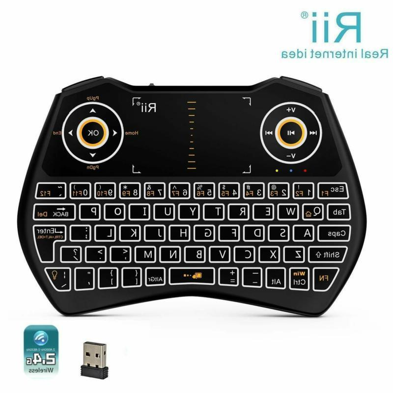 Rii i28C 3 1 Wireless Keyboard Rechargable