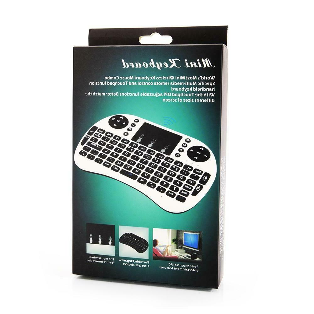 Mini I8 Wireless Keyboard With Touchpad Windows / Vista