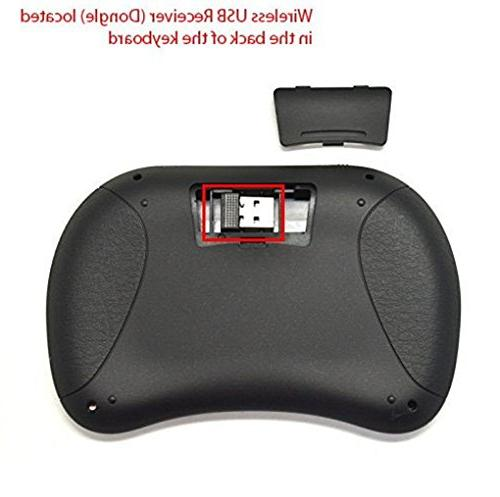 Rii Wireless with Mouse, LED Backlit, Li-ion Battery