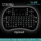RII I8+ Mini Wireless QWERTY Keyboard Touchpad Mouse Combo w
