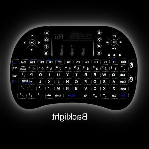 Rii Wireless Keyboard Backlight for TV
