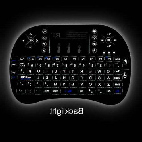 i8 wireless mini keyboard mouse