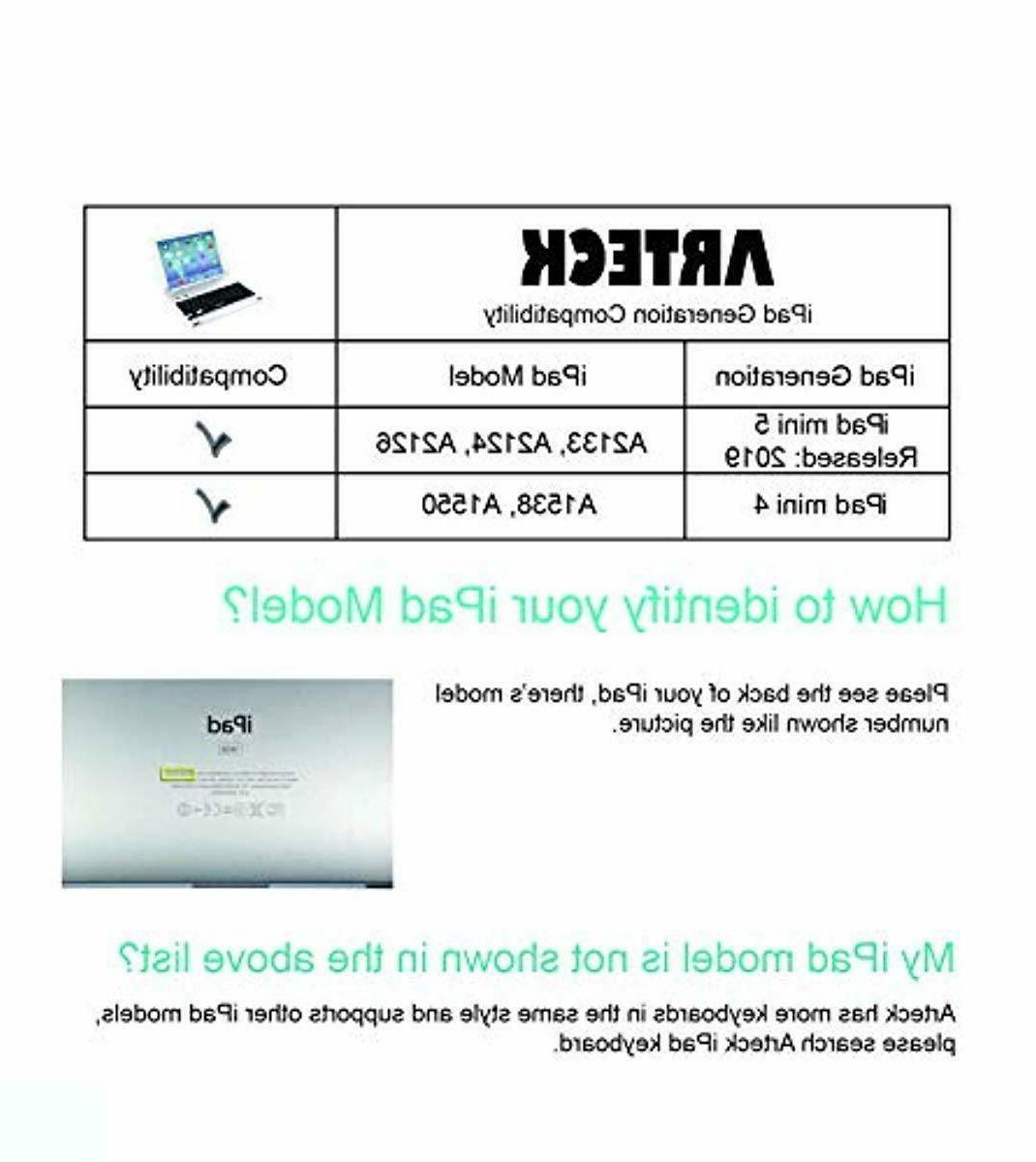 iPad Mini 5 Ultra-Thin iPad Bluetooth Keybo