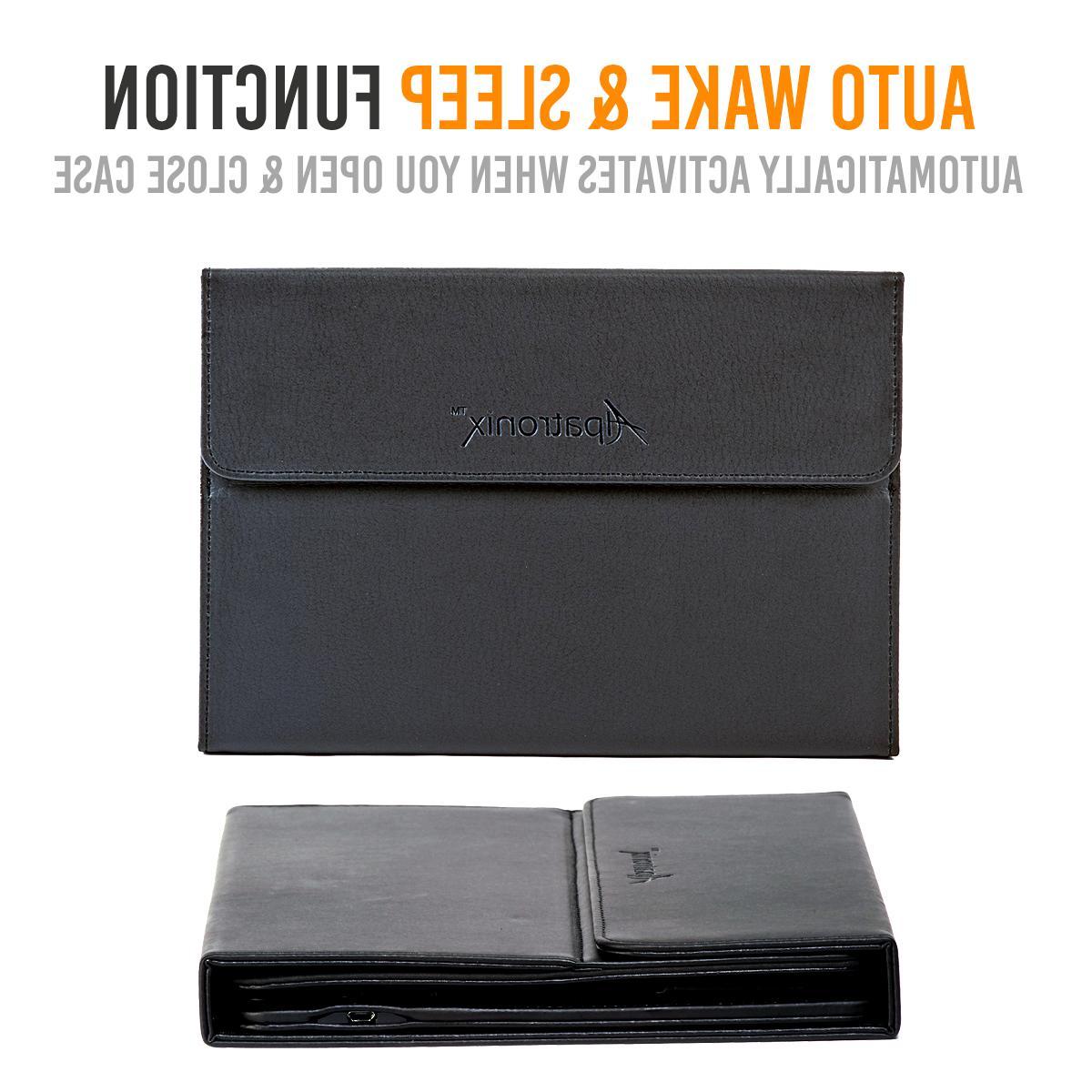 iPad Pro Keyboard Wireless Detachable Leather
