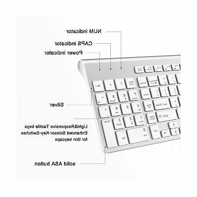 JOYACCESS Keyboard Mouse Combo Full-size Compact K...