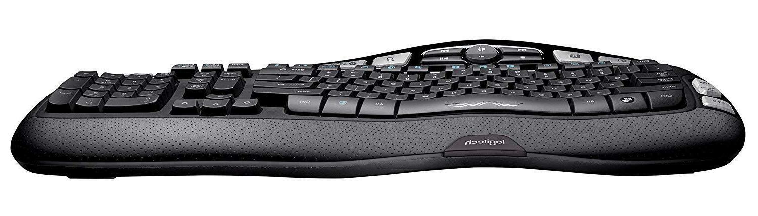 Logitech K350 Wireless Keyboard 2.4Ghz Wave RECEIVER