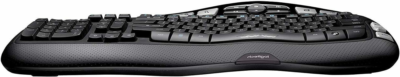 Logitech K350 Wave Keyboard Unifying Wireless Technology