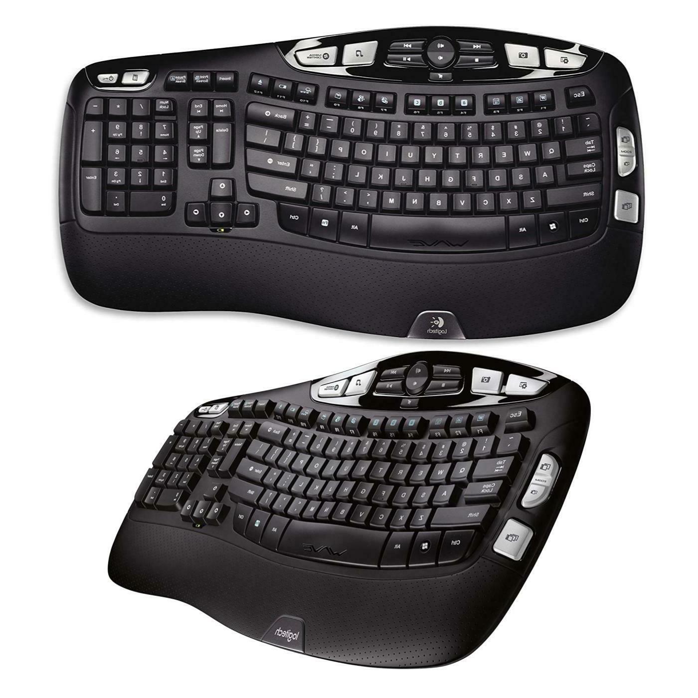 k350 wireless wave keyboard with unifying wireless