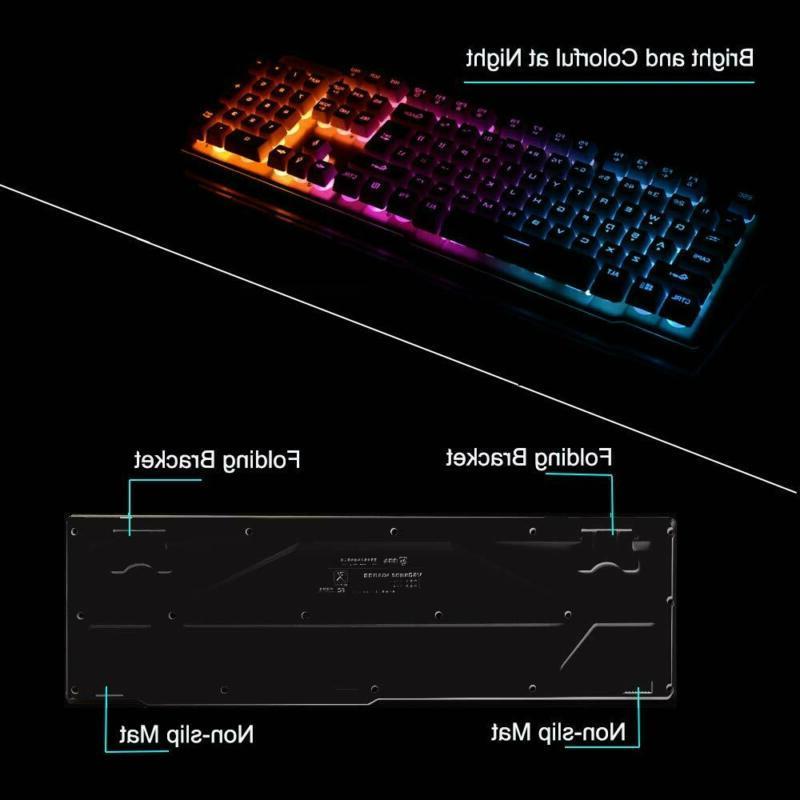 LexonElec Keyboard Mouse Combo,Wireless