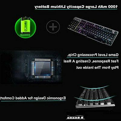 Keyboard Mouse Combo,Wireless