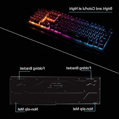 LexonElec Combo,Wireless Technology,1000mAhLarge Keycap Gaming