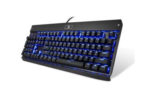 EagleTec KG010 Office / Industrial LED Backlit Mechanical Ke