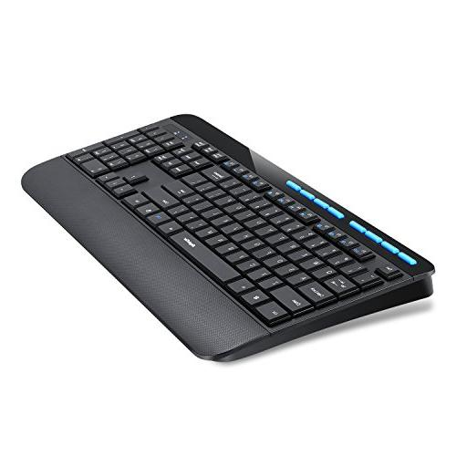 EagleTec Wireless Combo Full Keyboard Numeric And Mouse