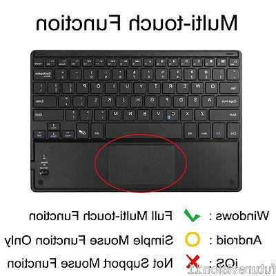 Leather Case Wireless keyboard for Microsoft 3