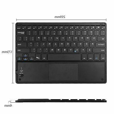 Leather Cover w/ Wireless Bluetooth keyboard Microsoft Surface 3/Pro 3