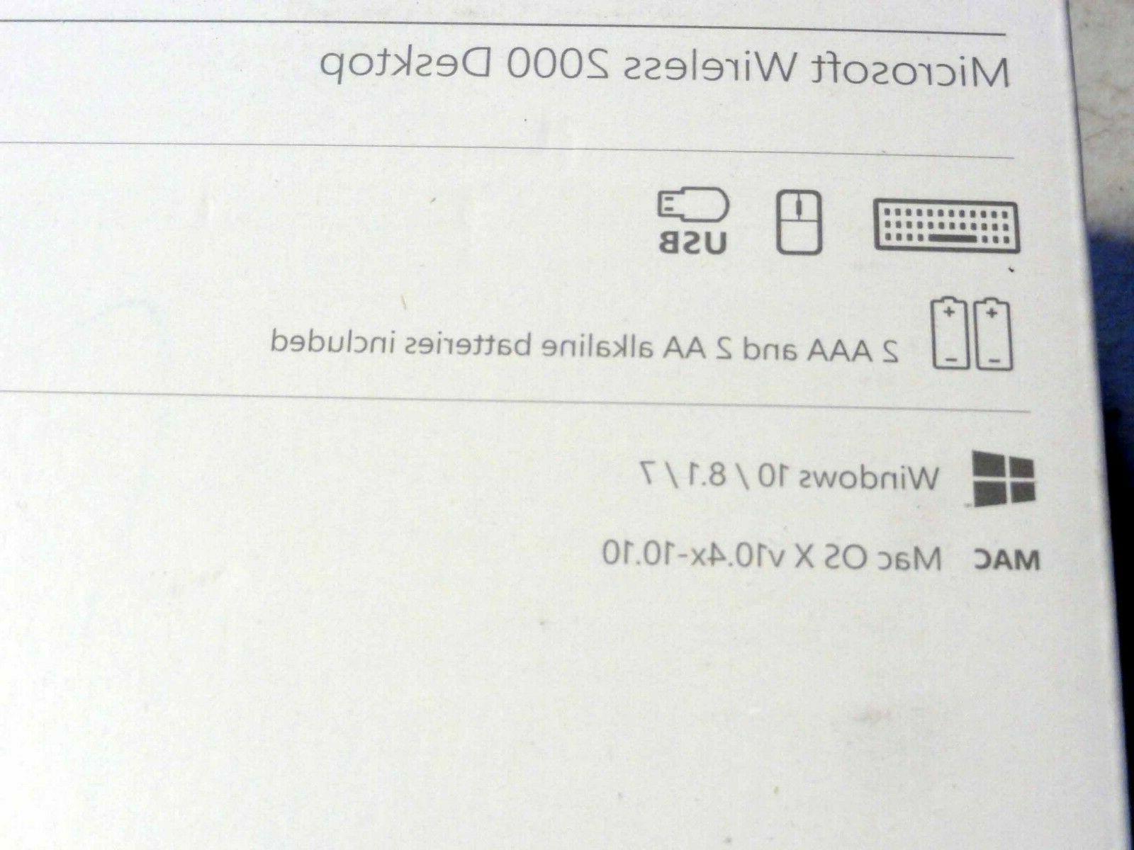 NEW Microsoft Desktop Wireless Keyboard Windows