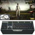 Mechanical Keyboard Gameing Mouse USB Wired LED Backlight Br