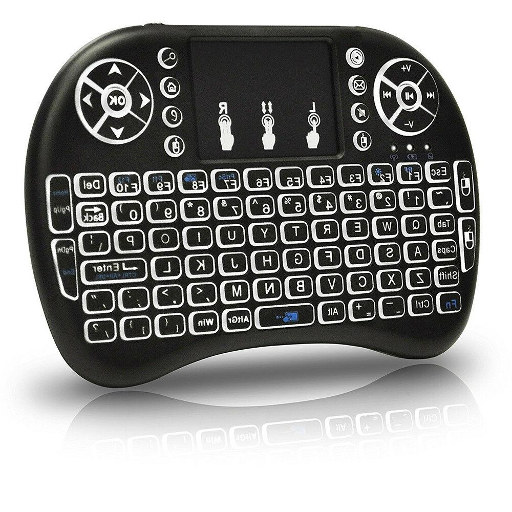 Mini Wireless Keyboard Touchpad For PC Android PS4