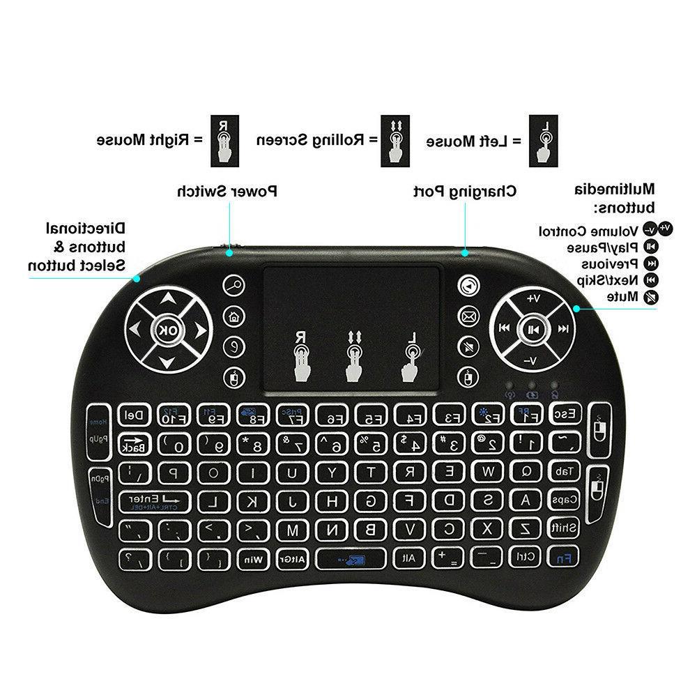 Mini 2.4G Wireless Keyboard PC Smart PS4