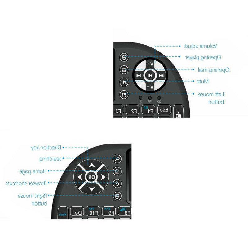 Mini Wireless Remote Backlight Smart TV Android TV Box