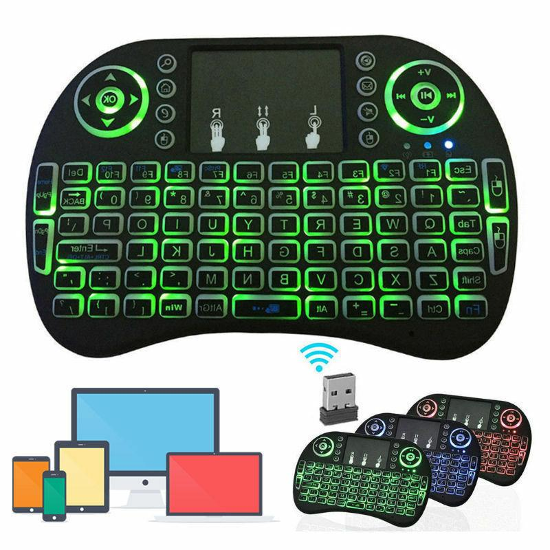 mini 2.4GHZ Wireless Keyboard Touchpad for Smart PC