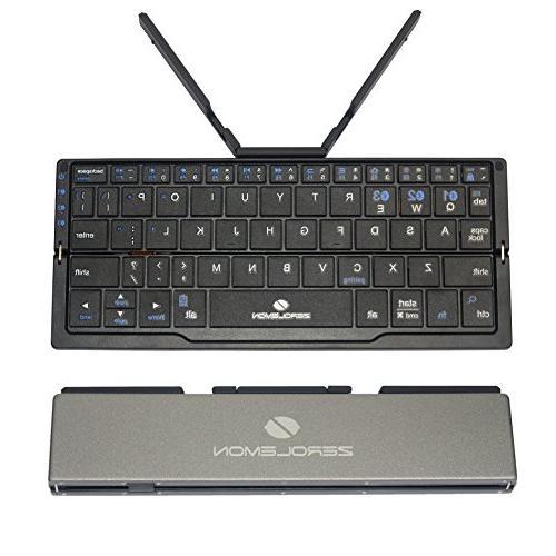 mini foldable portable bluetooth keyboard