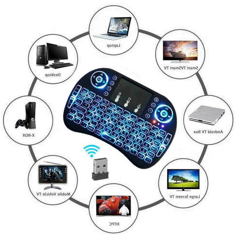 mini i8 2.4GHZ mini Wireless Keyboard Touchpad for Smart TV