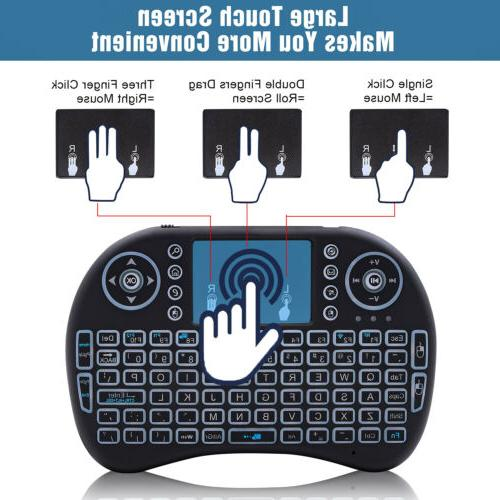 Mini i8 Wireless Keyboard Mouse for PC Smart TV Box