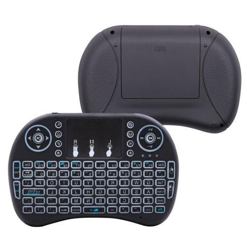 Mini Wireless Keyboard Mouse for PC Smart Box