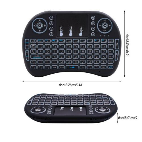 Mini i8 Keyboard Touchpad for PC Box