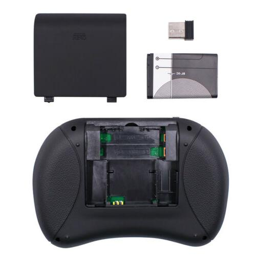 Mini Keyboard Touchpad Air Mouse for Smart TV Box