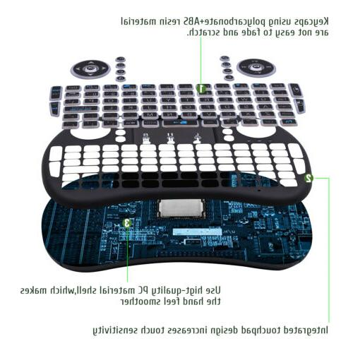Mini Wireless Keyboard Air Mouse for PC Smart Box
