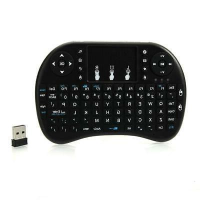 mini i8 wireless 2 4ghz backlit keyboard