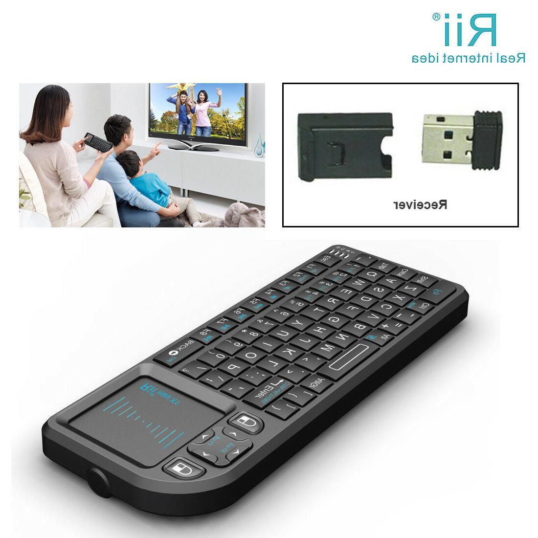 Rii Mini X1 Mini Wireless for PC Android TV Box