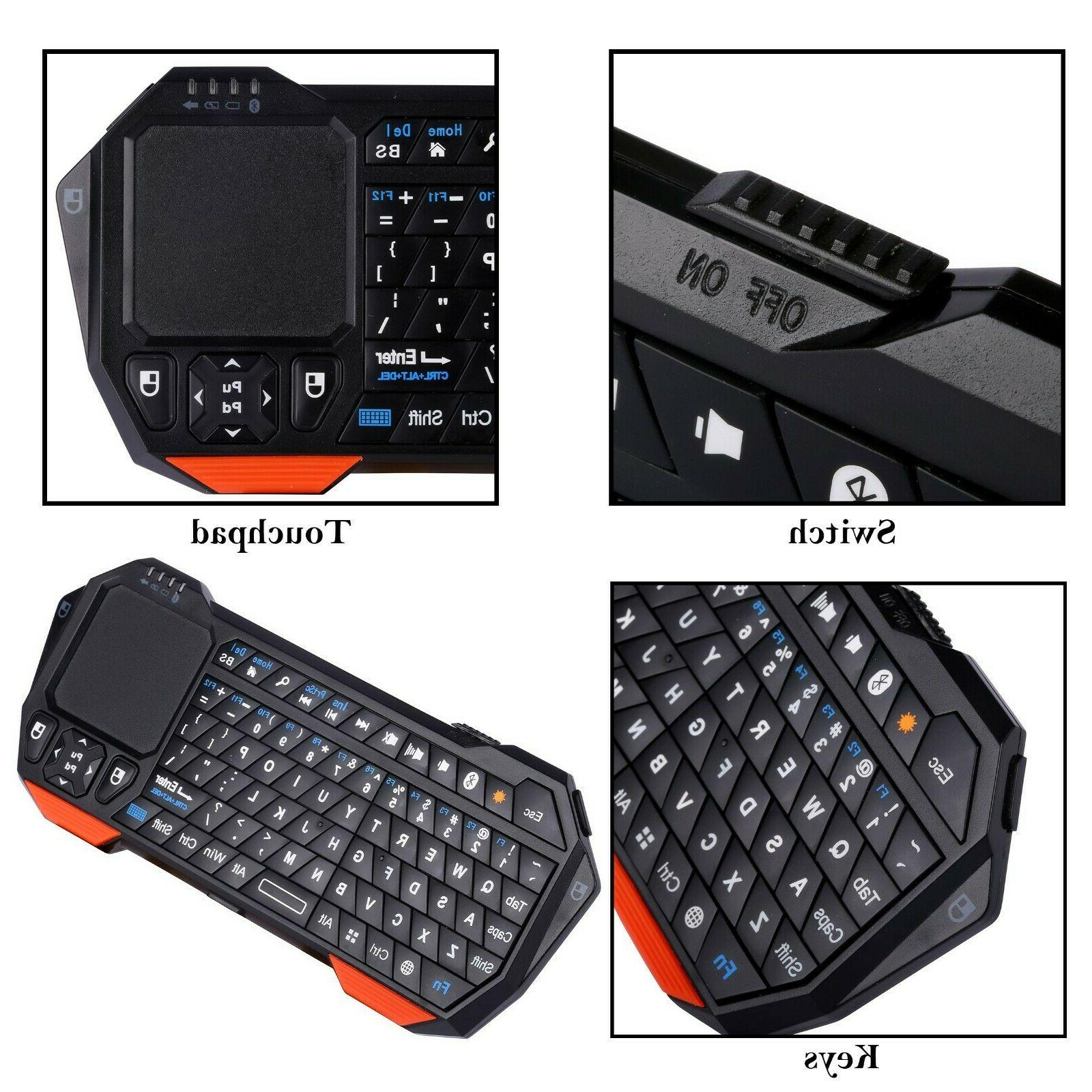 Mini Touchpad iOS Android Windows Portable Backlit
