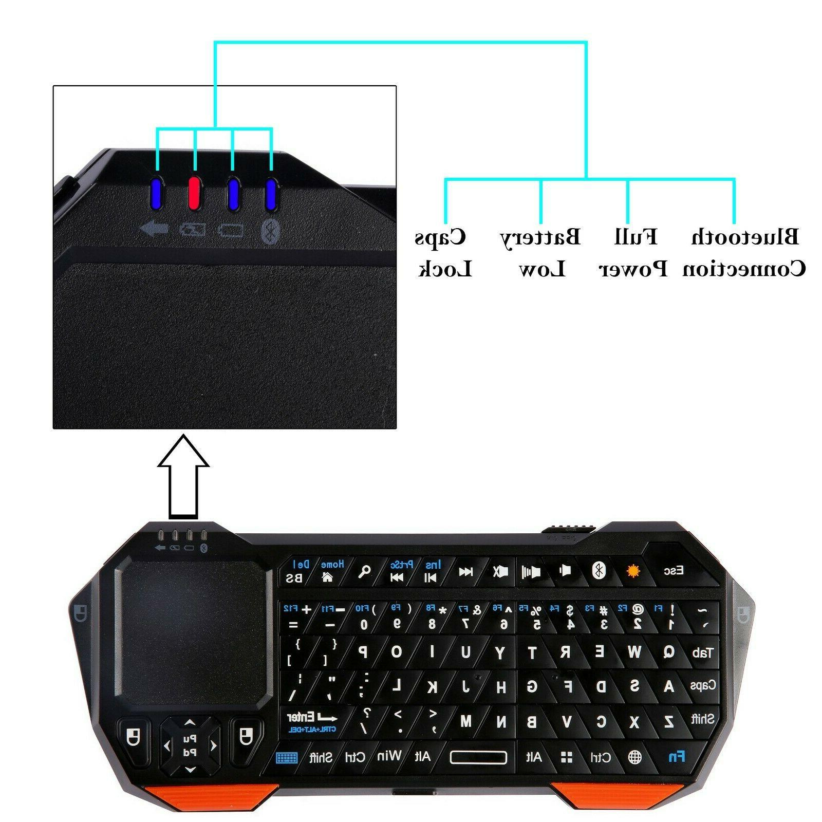 Mini Touchpad iOS Android Portable Backlit
