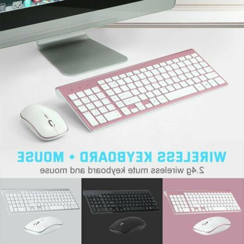 mini wireless keyboard and mouse set waterproof