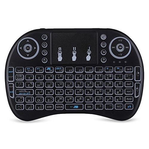 mini wireless keyboard mouse set