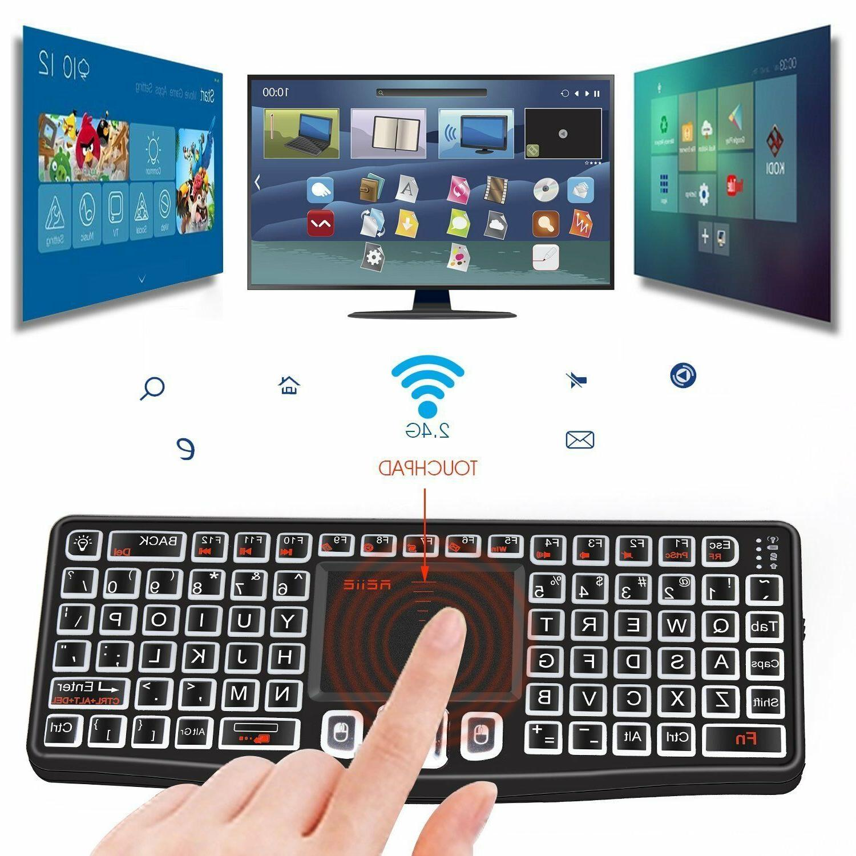 Mini Wireless Mouse Smart TV Box