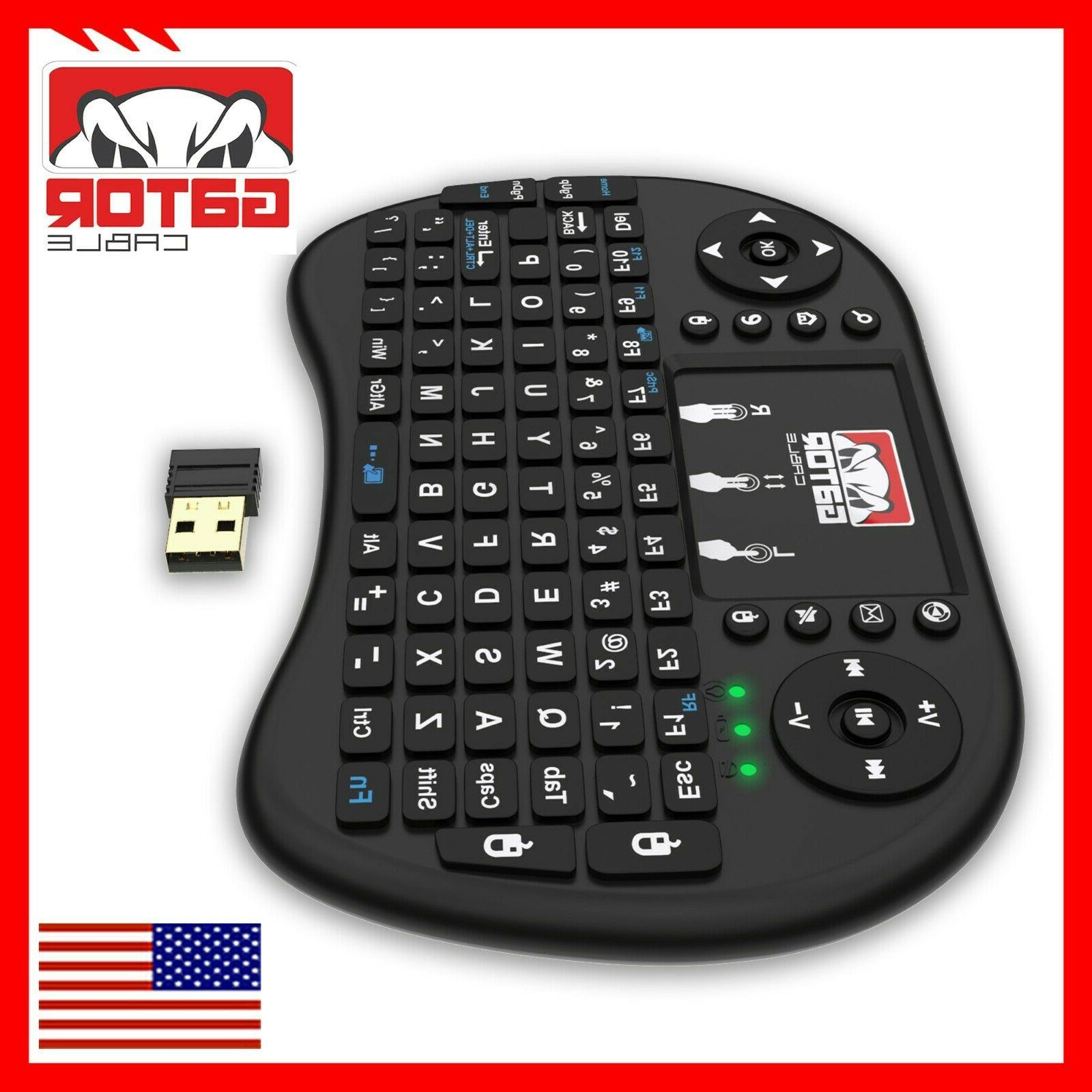 Mini Remote Control Touchpad TV Android PC