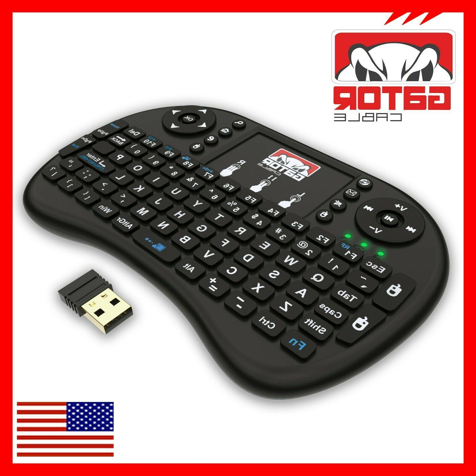 Mini Keyboard Remote Control TV Android PC