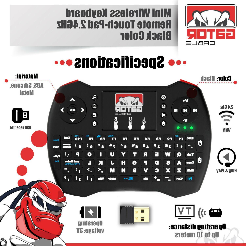 Mini Keyboard Touchpad Android Box PC