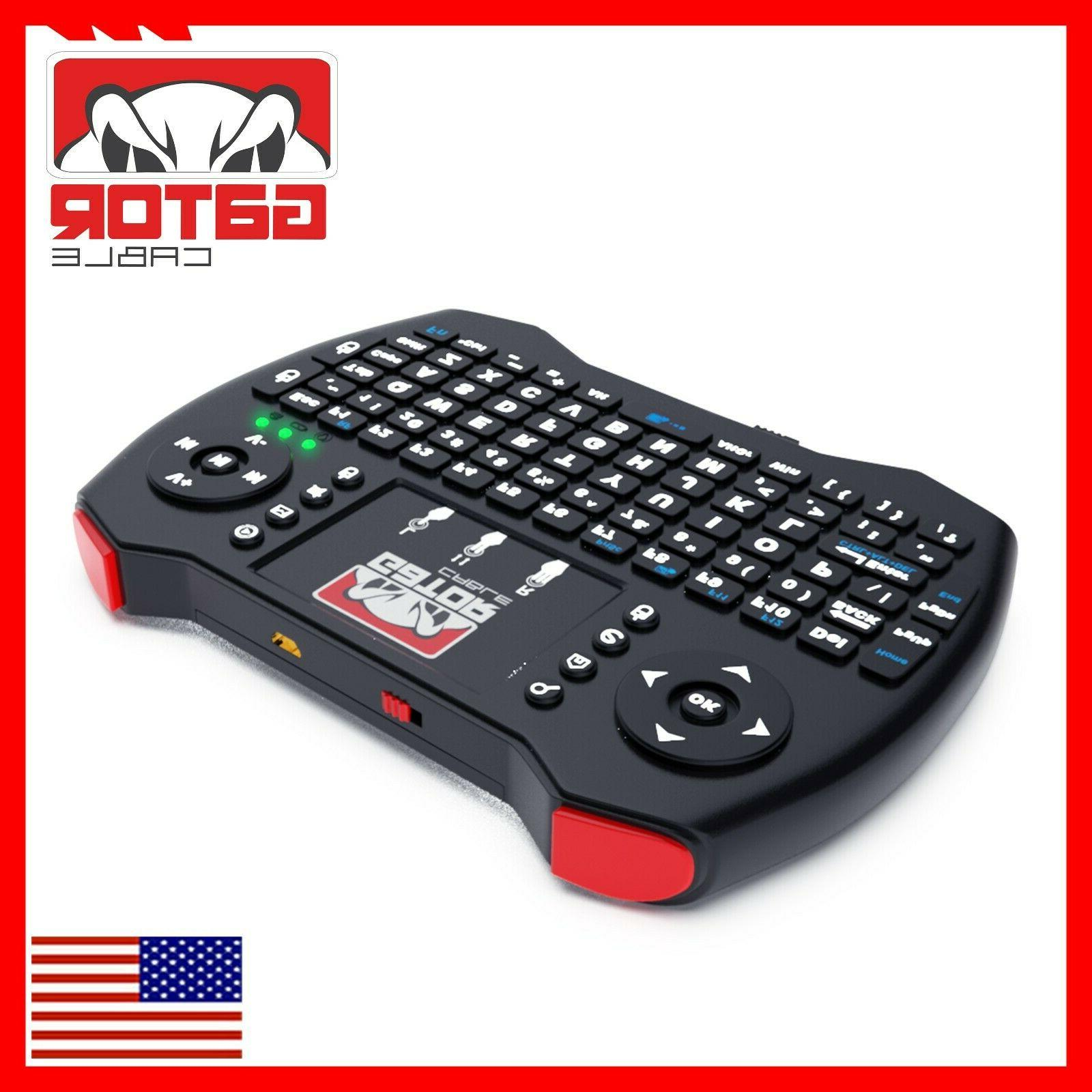 Mini Keyboard Remote Touchpad Android Respberry