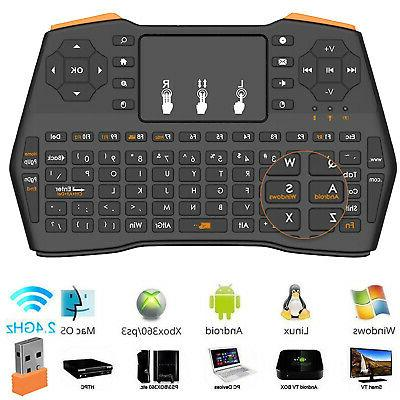 2.4G Mini Wireless Keyboard Touchpad Mouse Combo for Android