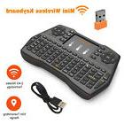 2.4G Mini Wireless Keyboard Touchpad Air Mouse Combo for And