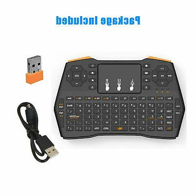 2.4GHz Mini Wireless Air Touchpad Android PC Box