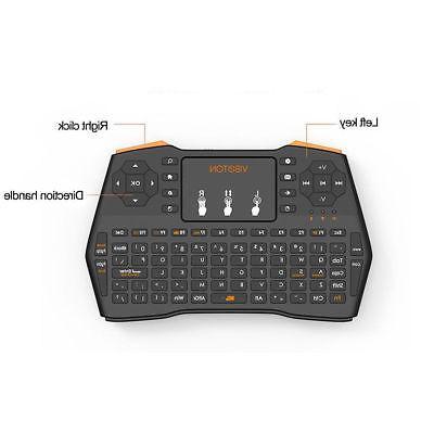EEEKit 2.4G Wireless Keyboard Mouse for TV