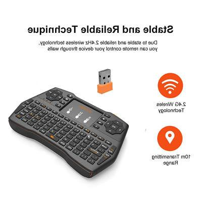 EEEKit 2.4G Keyboard Touchpad Mouse Combo for PC TV