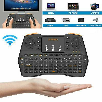 mini wireless keyboard touchpad mouse