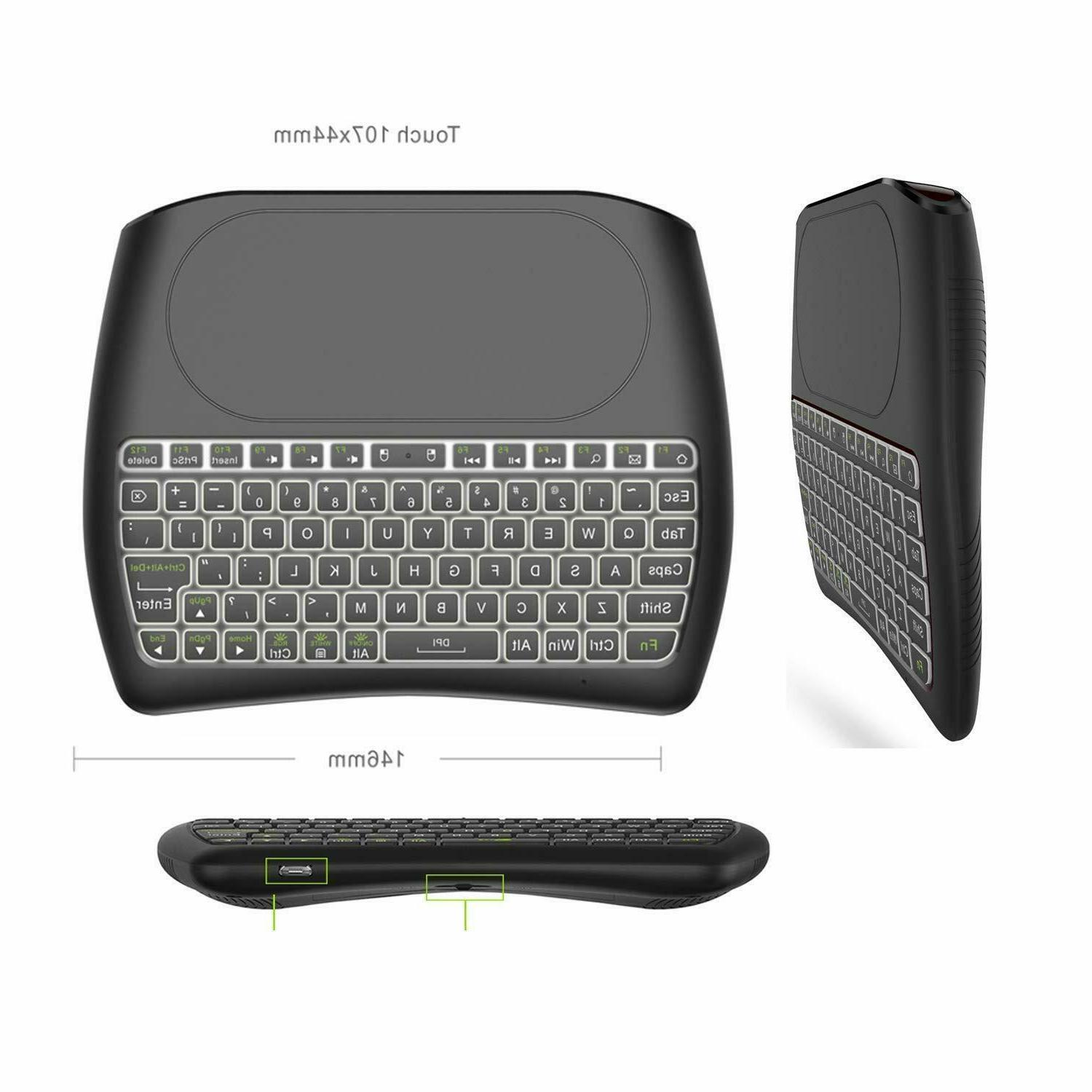 Mini Large Touchpad Battery Remote